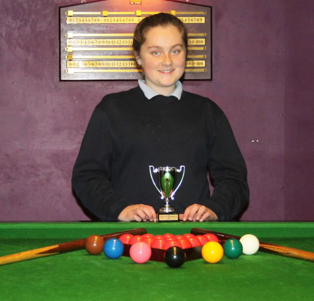 RILSA National Primary School Champion Lauren McGrath