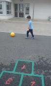 Soccer obstacle course