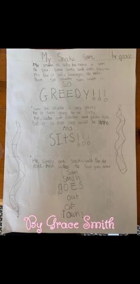 Grace's Poem