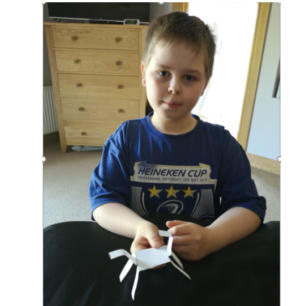 Oliver's Paper Horse