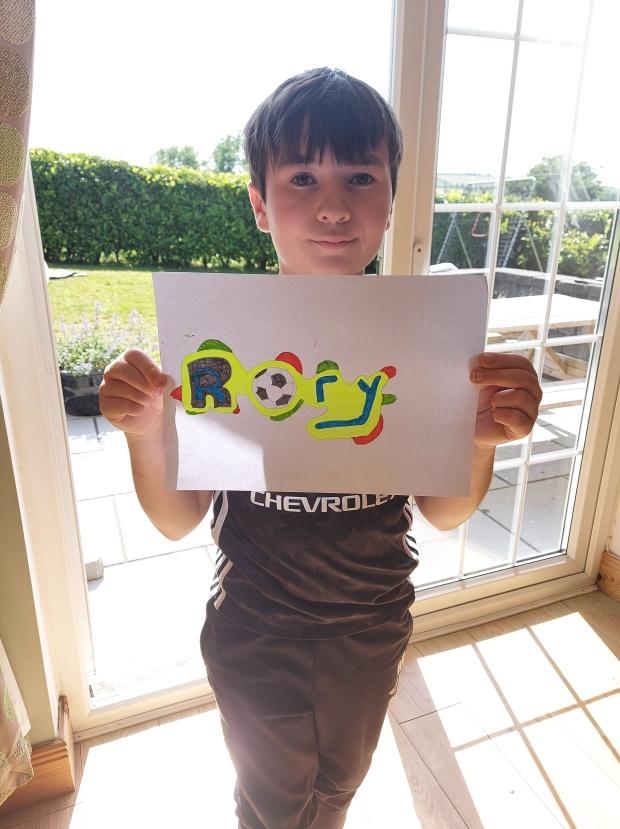 Rory's Name Art